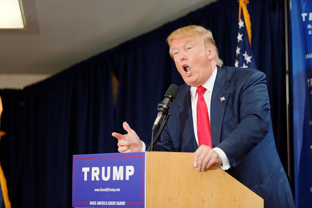 Donald Trump Laconia Rally, Laconia, NH ( Michael Vadon )