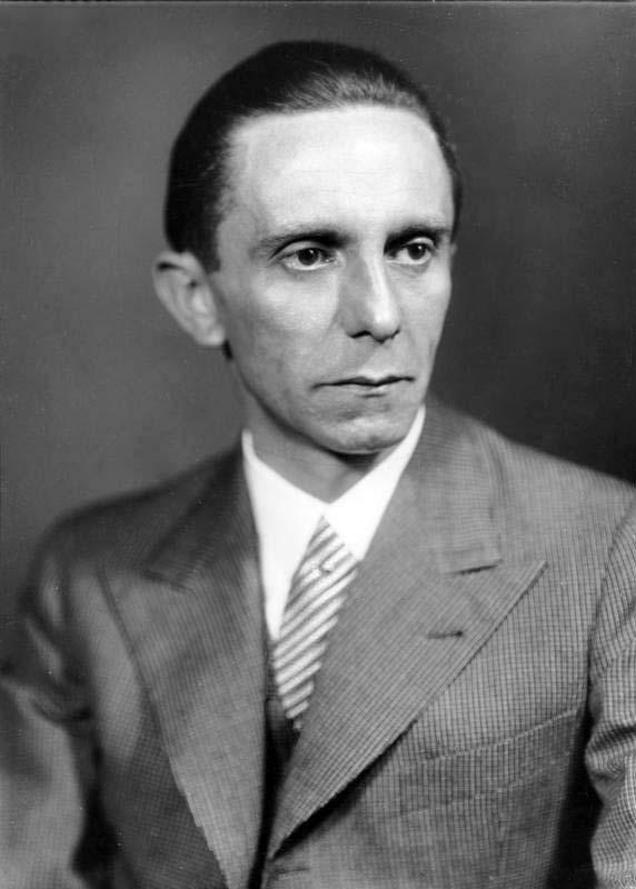 Joeseph Goebbels, Hitler's Minister of Propaganda ( Wikipedia )