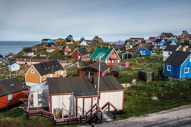 Village in Greenland ( helen@littlethorpe )