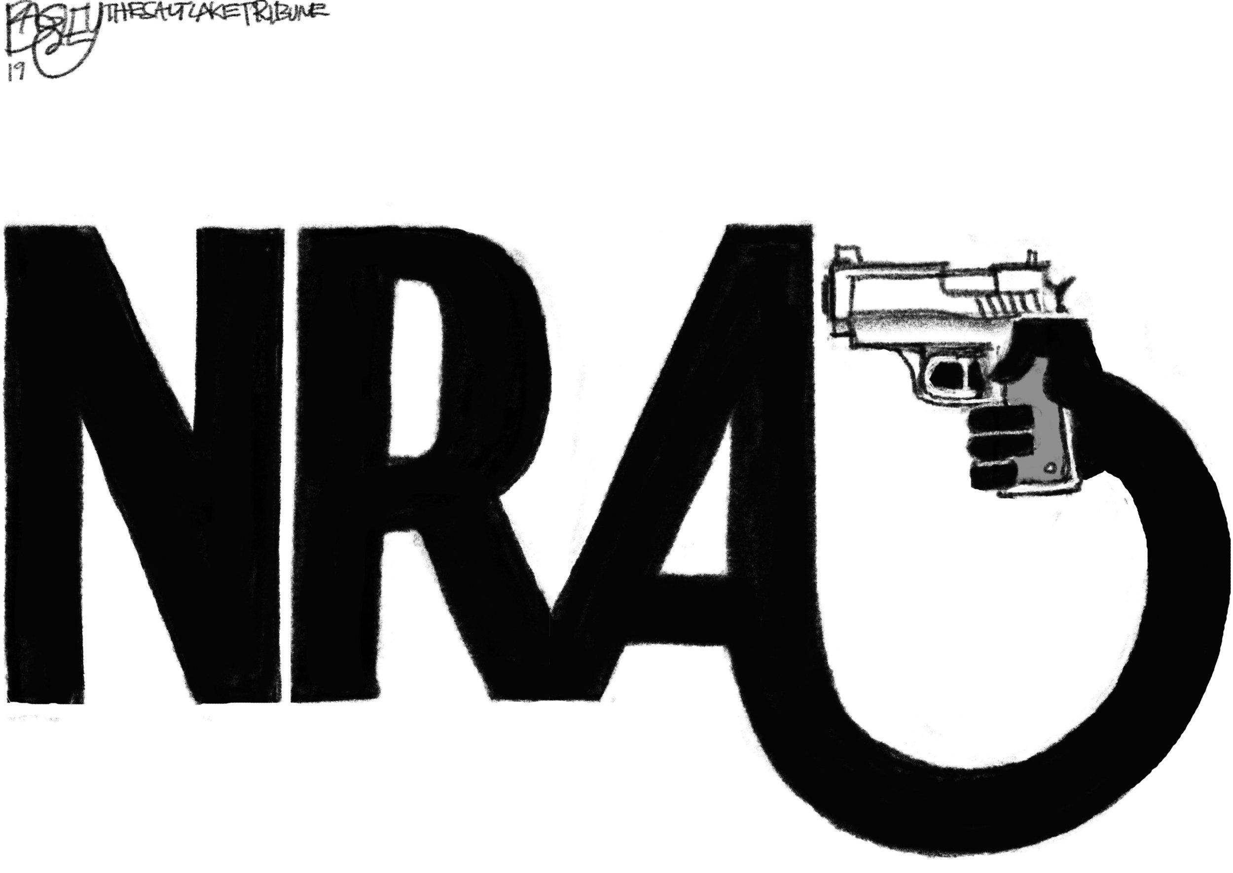 NRA ( Pat Bagley , The Salt Lake Tribune)