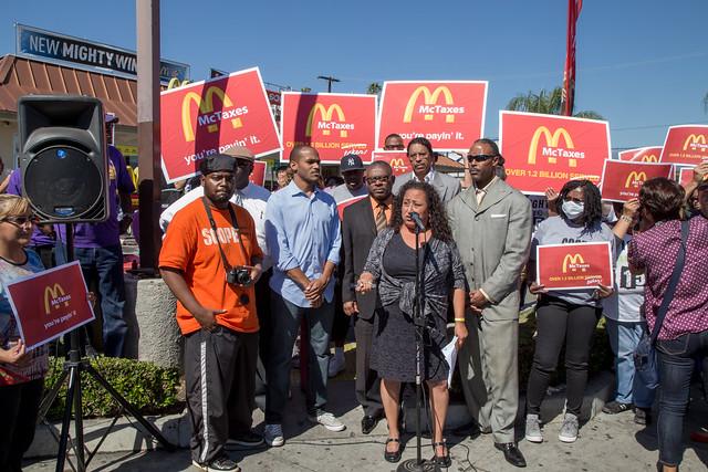 Fast Food Workers Strike ( SEIU ULTCW )