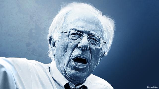 Bernie Sanders - Portrait ( DonkeyHotey )