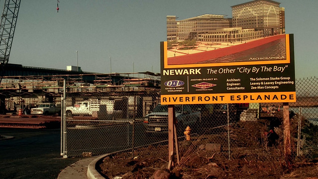 Riverfront Esplande: Newark ( Ron Cogswell )