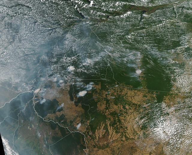 Fires in Brazil ( NASA Goddard Space Flight Center )