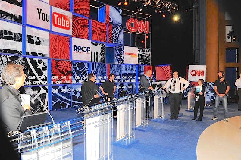 CNN Presidential Debate Stage - 2007 ( FredThompson )
