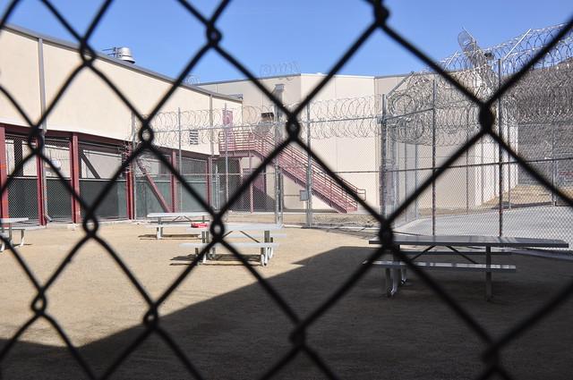 Otay Mesa Detention facility in San Diego run by for-profit company CoreCivic  (BBC )