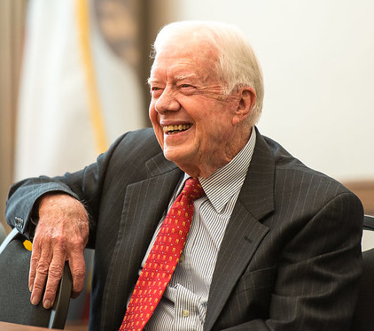 Former President Jimmy Carter is back to building houses for Habitat for Humanity ( Commonwealth Club )