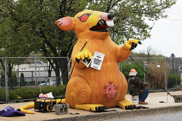 Scabby the Rat ( Montgomery County Planning Commission )