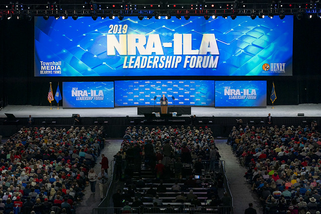 President Trump Delivers Remarks at NRA Annual Meeting ( The White House )