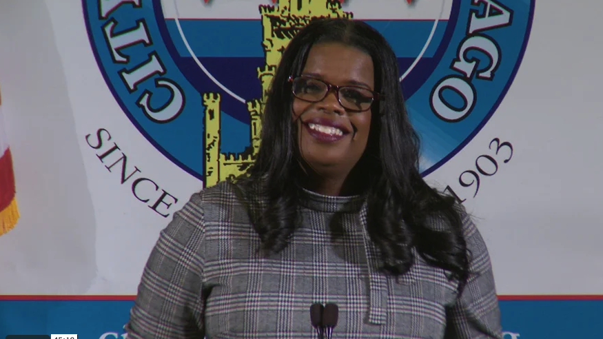 Kim Foxx, State's Attorny, Cook County ( City Club of Chicago )