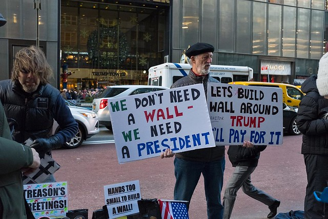 Protest at Trump Tower ( Chris Beckett )