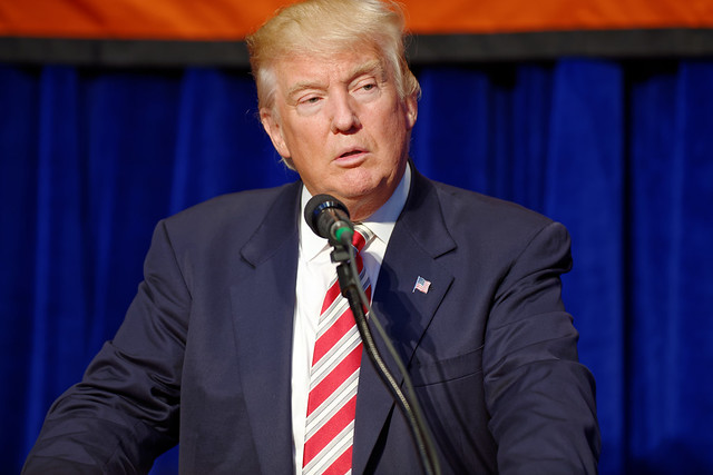 Donald J. Trump at Marriott Marquis NYC September 7th 2016 ( Michael Vadon )