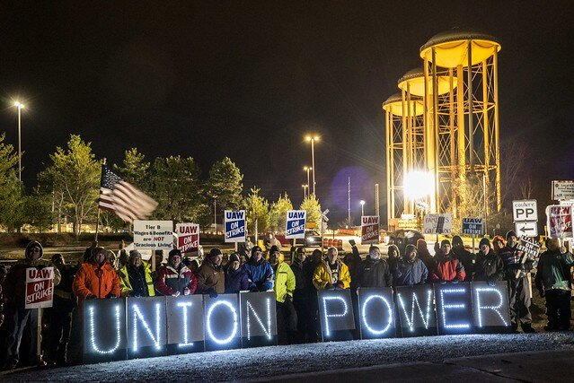UAW on strike ( Joe Brusky )