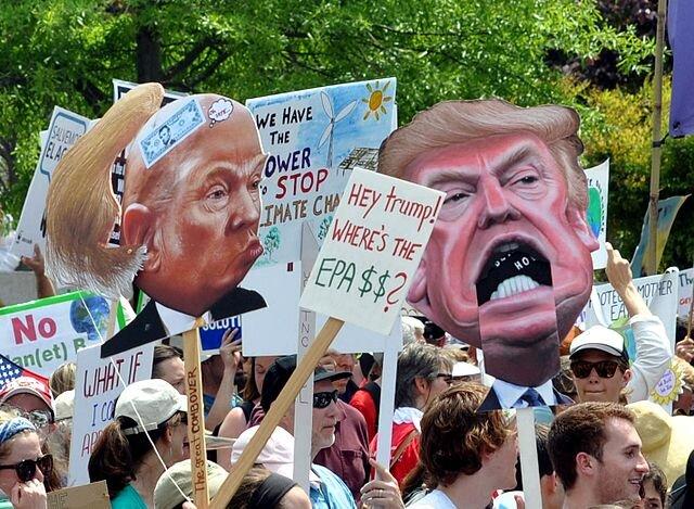 Climate March 0666 trump ( Edward Kimmel )
