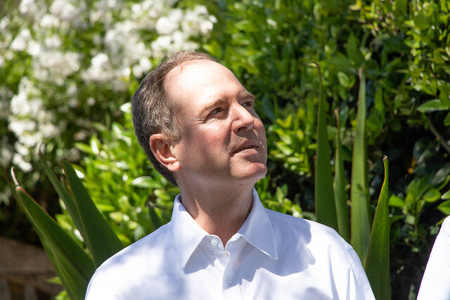 Congressman Adam Schiff, Chairman of the House Intelligence Committee ( Louise Palanker )