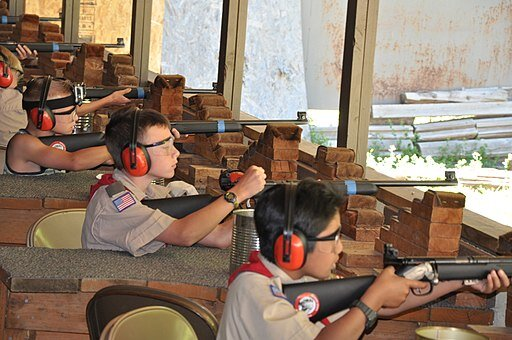 Gun Range at Camp Tracey ( Potterface )