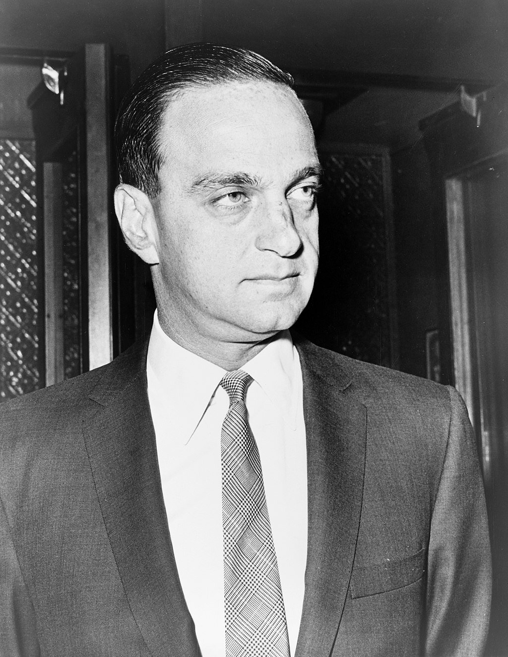 """Donald Trump's odious mentor and Joe McCarthy """"Red Scare"""" counsel, Roy Cohn ( Public Domain )"""