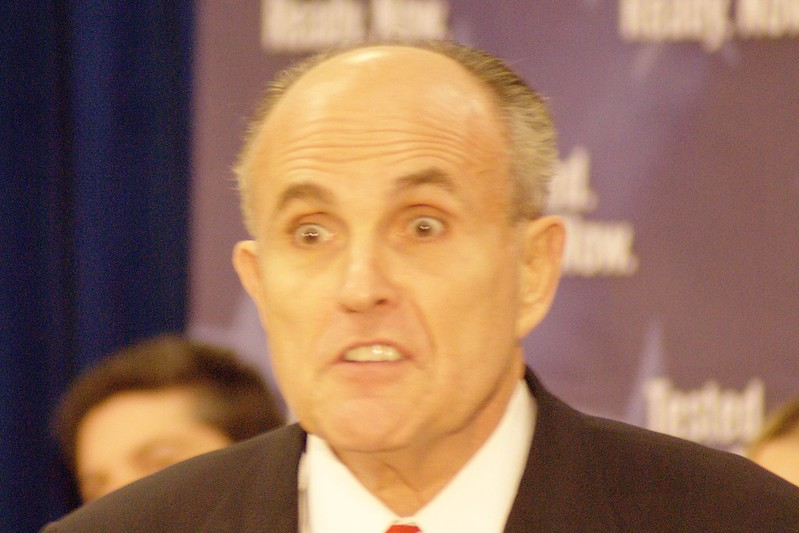 "Rudy ""The Mad Hatter"" Giuliani ( Marc Nozell )"