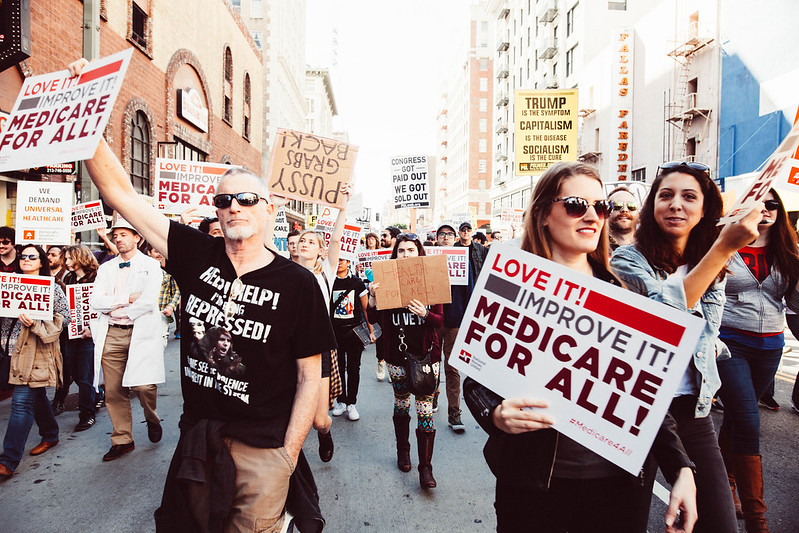 Medicare for all rally ( Molly Adams )