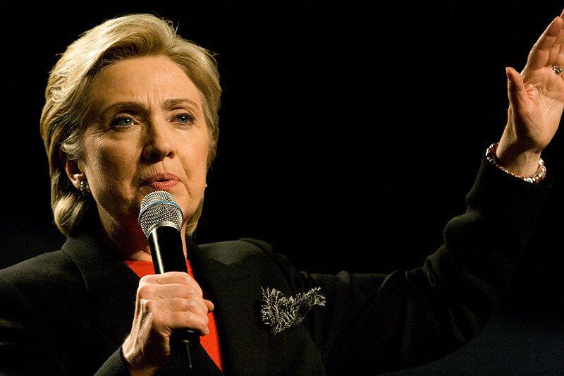 Hillary Clinton ( Brett Weinstein )