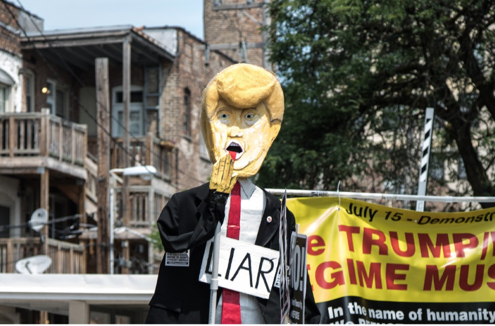 Donald J. Trump set the gold standard for burying truth beneath demagogic lies  (Courtesy of Klikauer)