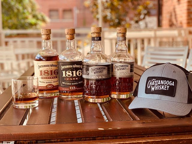 Look at the goodies we got 🙏😍 thank you @chattwhiskey for hooking us up! Come in for some delightful cocktails featuring #91 - TN High Malt, #111 Cask Strength, Chatt Native.....and of course get the last of the 1816 Reserve and 1816 Cask that we have left!  Photo credit: @tropical_moisture  #whiskeytothepeople #chattanooga #chattanoogawhiskey #chattwhiskey #cocktails #chattcocktails #restaurant #craftcocktails #craftbeer #summer #whiskey #bourbon