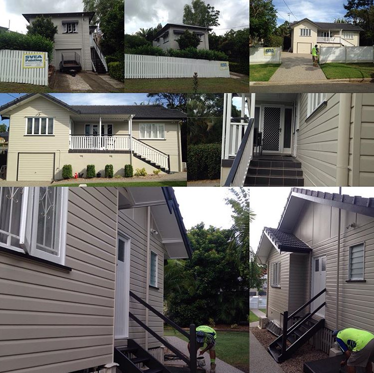 Another two houses completed ... happy customers = happy me!