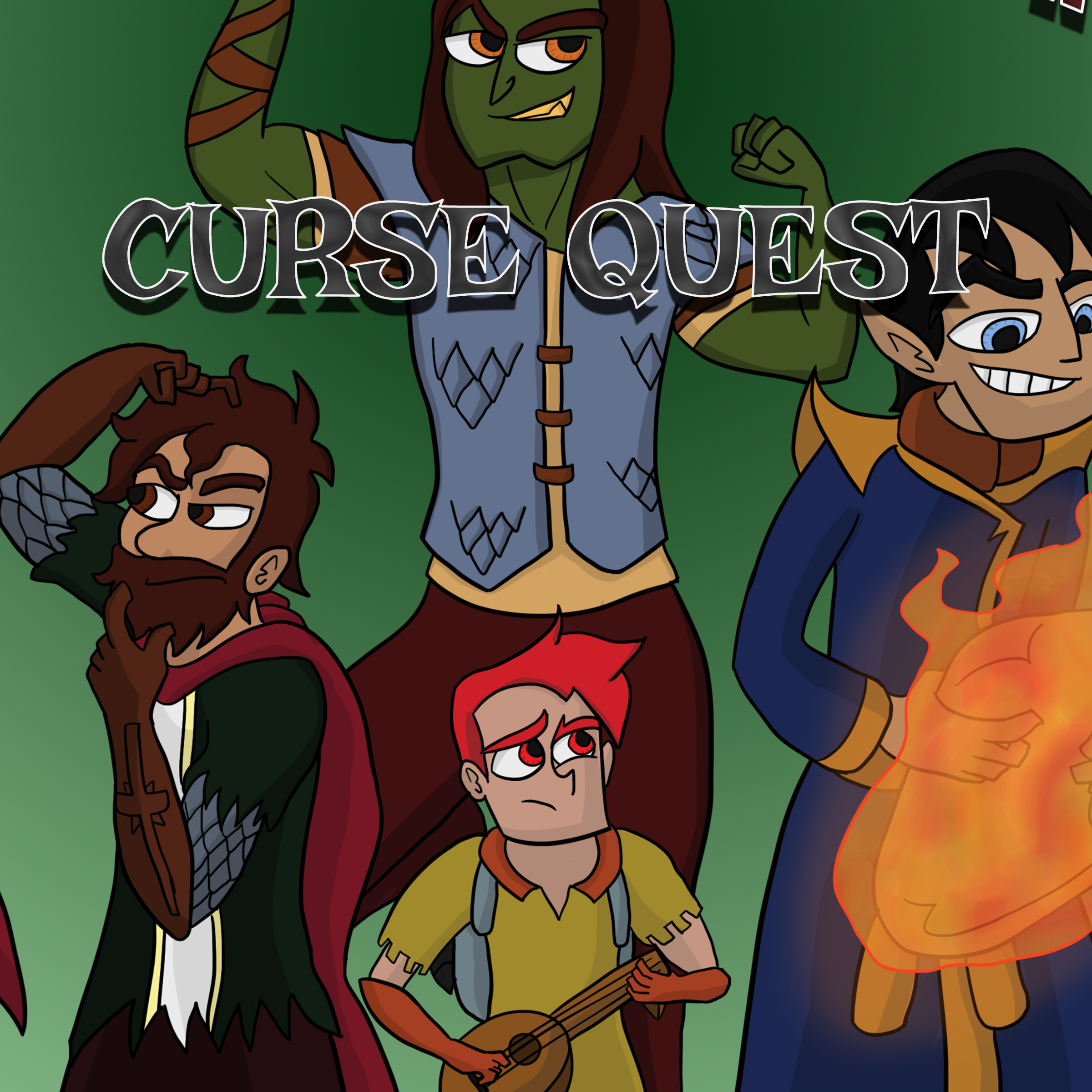 Final Update Jan 29 Curse Quest Ch. 2 Saving Face Page 12-13  -