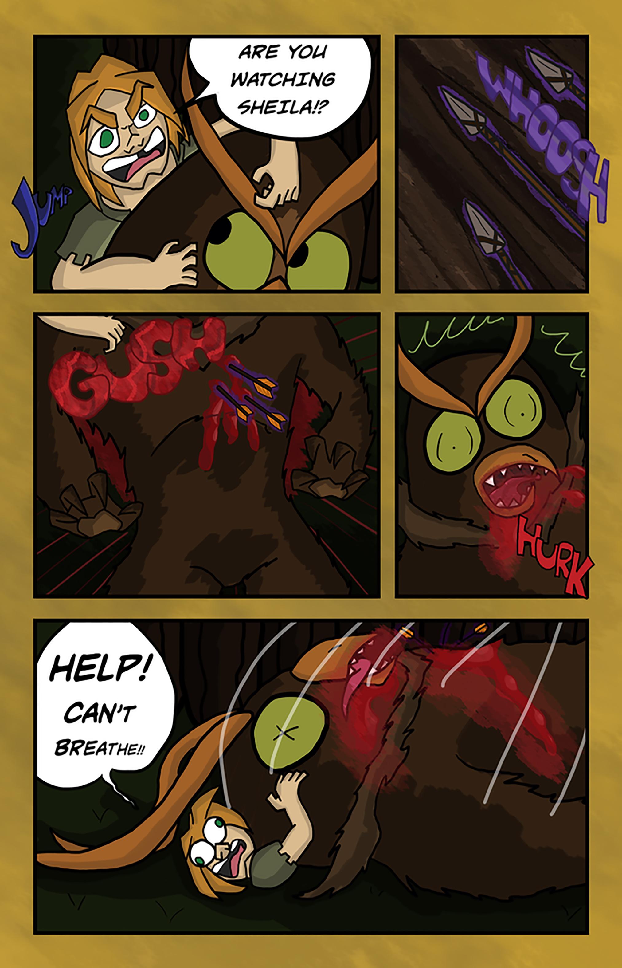Curse Quest Ch 1 Pg 8