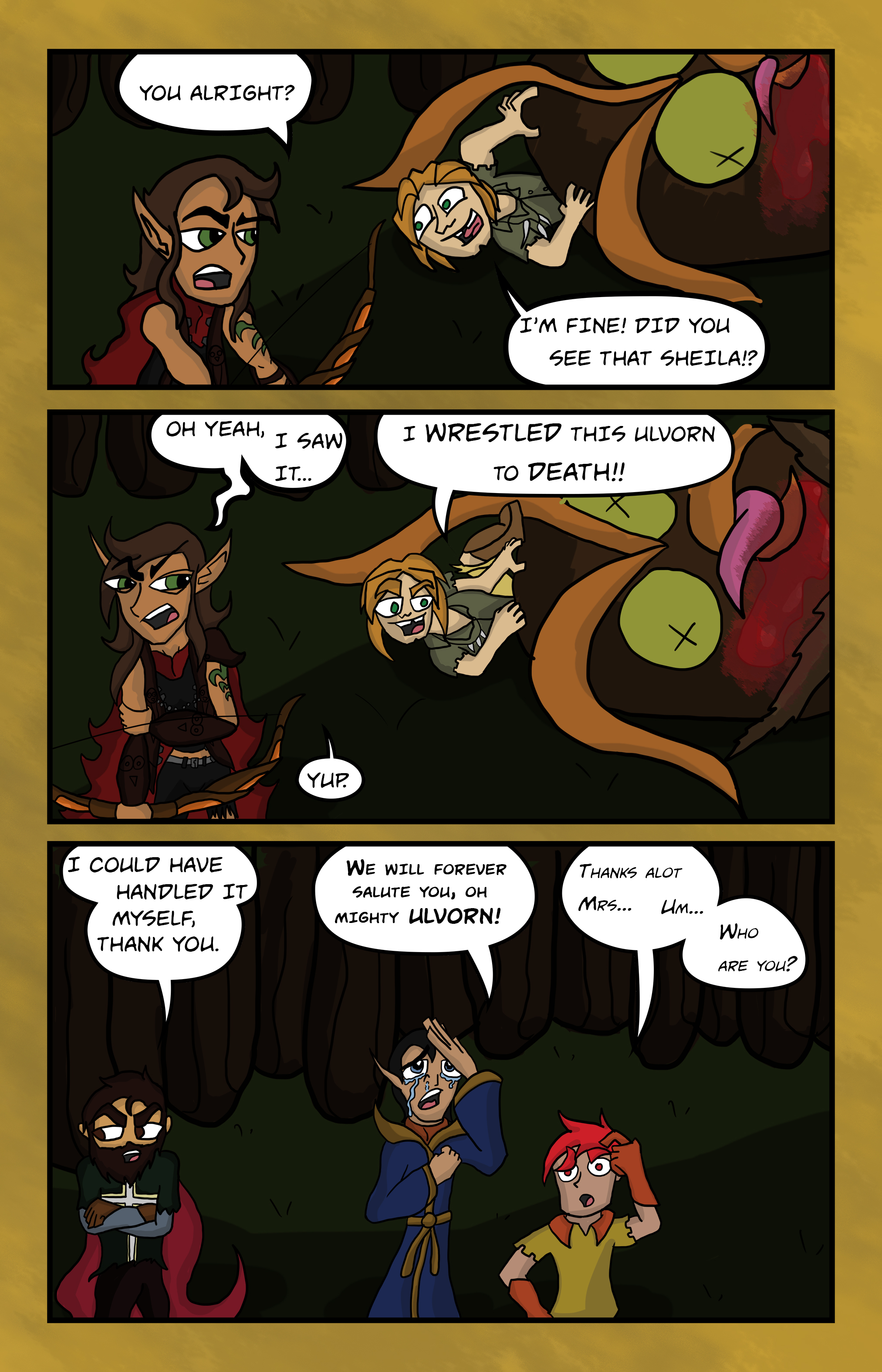 Curse Quest Chapter 1 Page 9