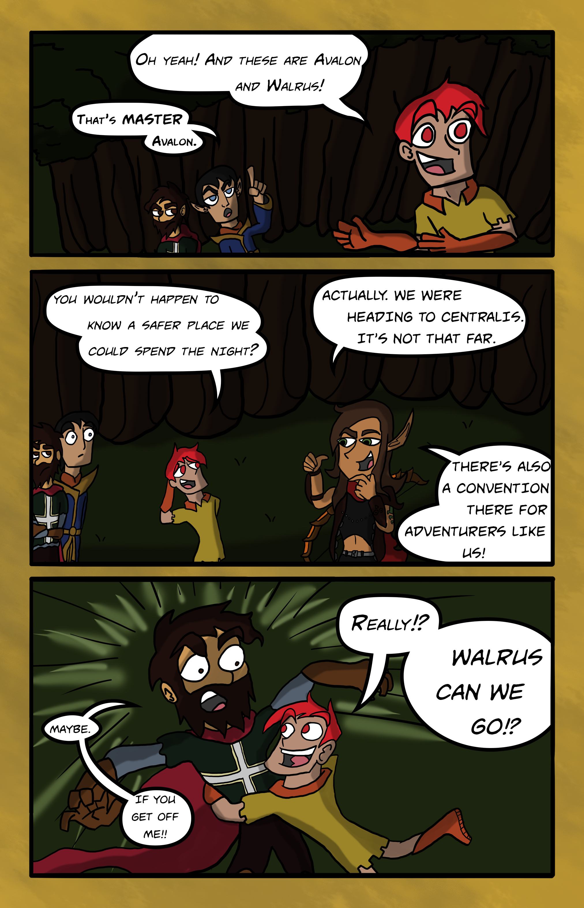 Curse Quest Chapter 1 Page 11