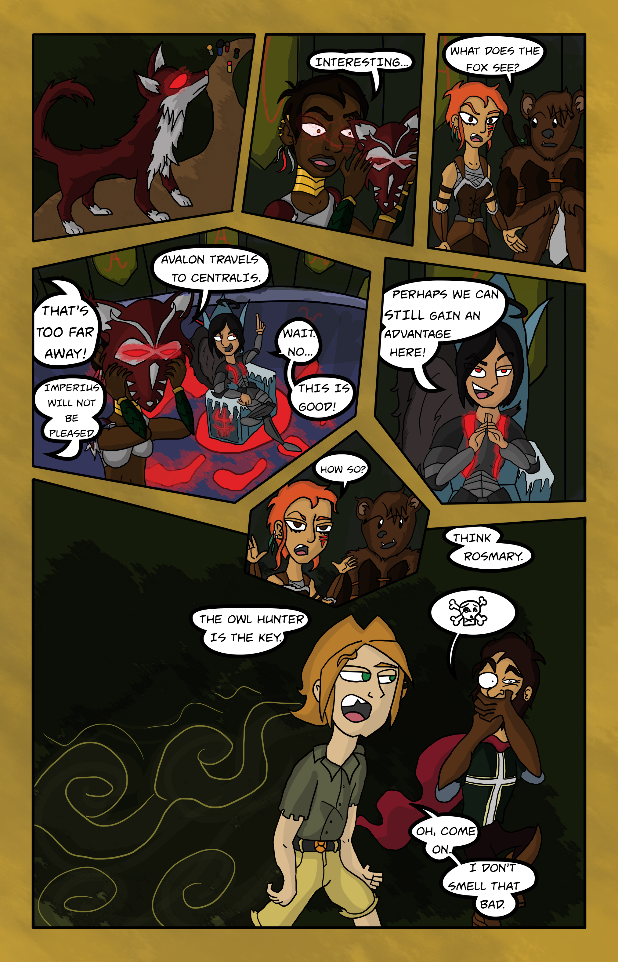 Curse Quest Chapter 1 Page 13