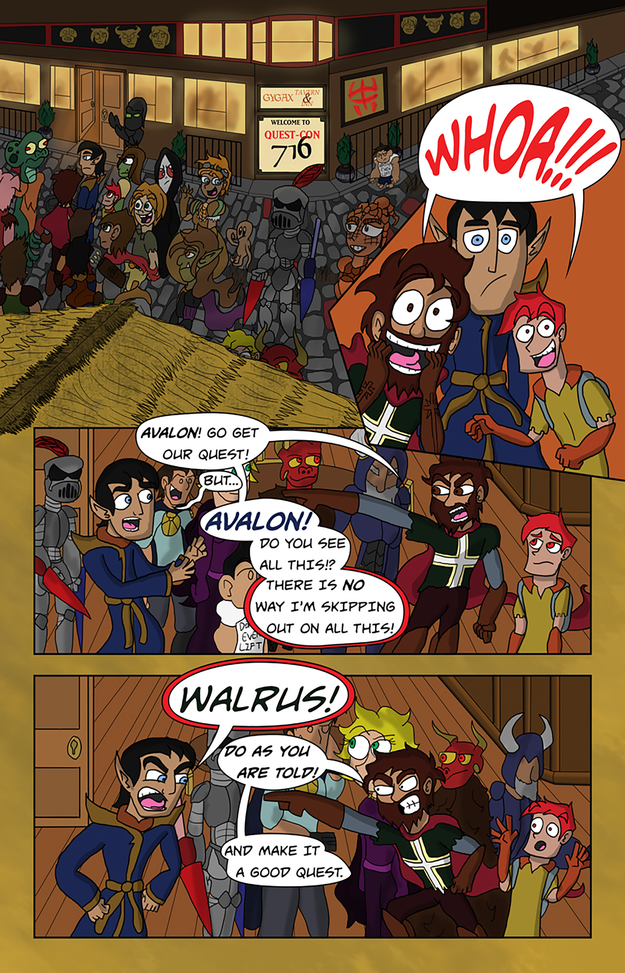 Curse Quest Chapter 1 Page 15
