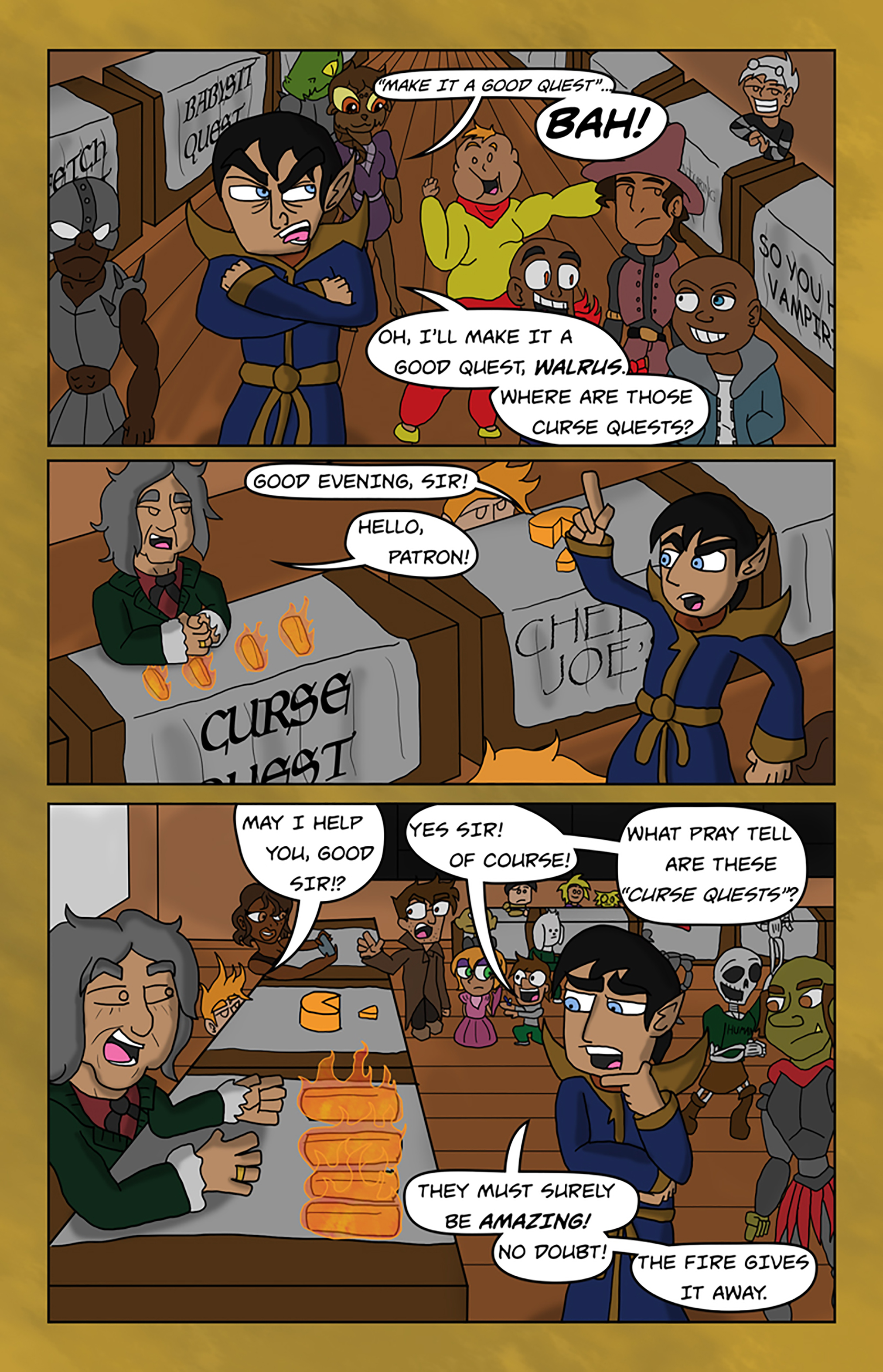 Curse Quest Chapter 1 Page 16