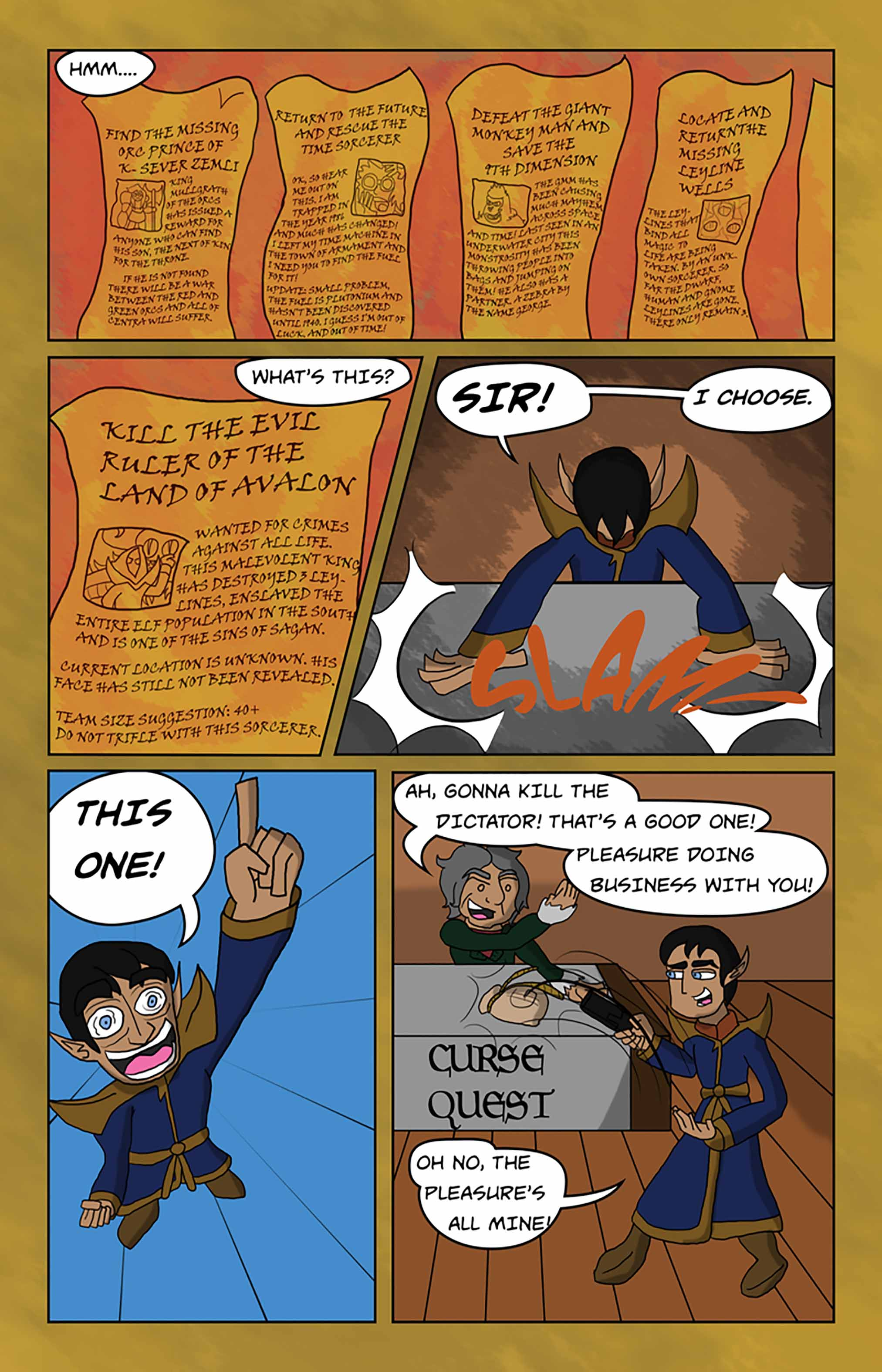 Curse Quest Chapter 1 Page 19