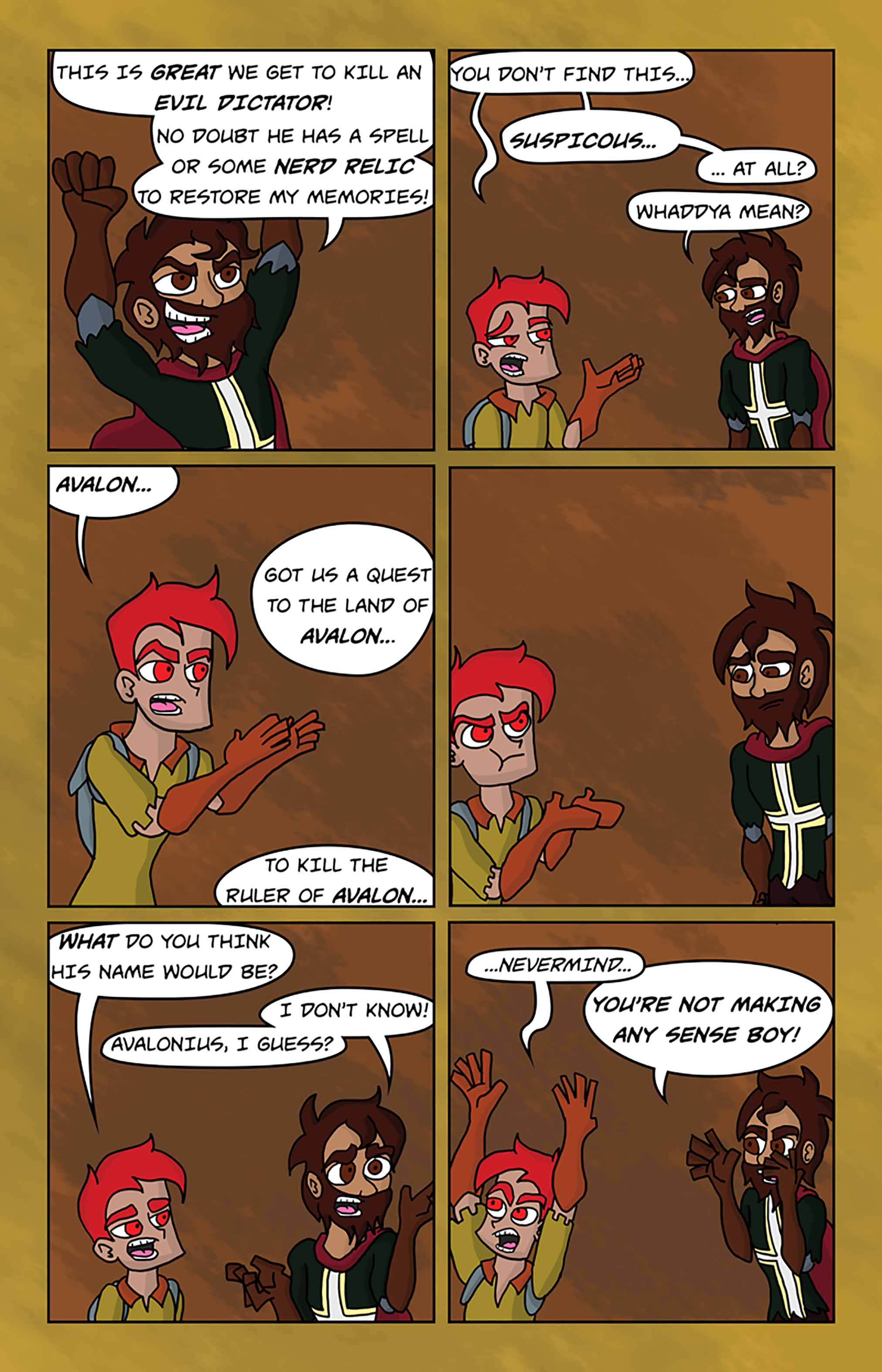 Curse Quest Chapter 1 Page 23