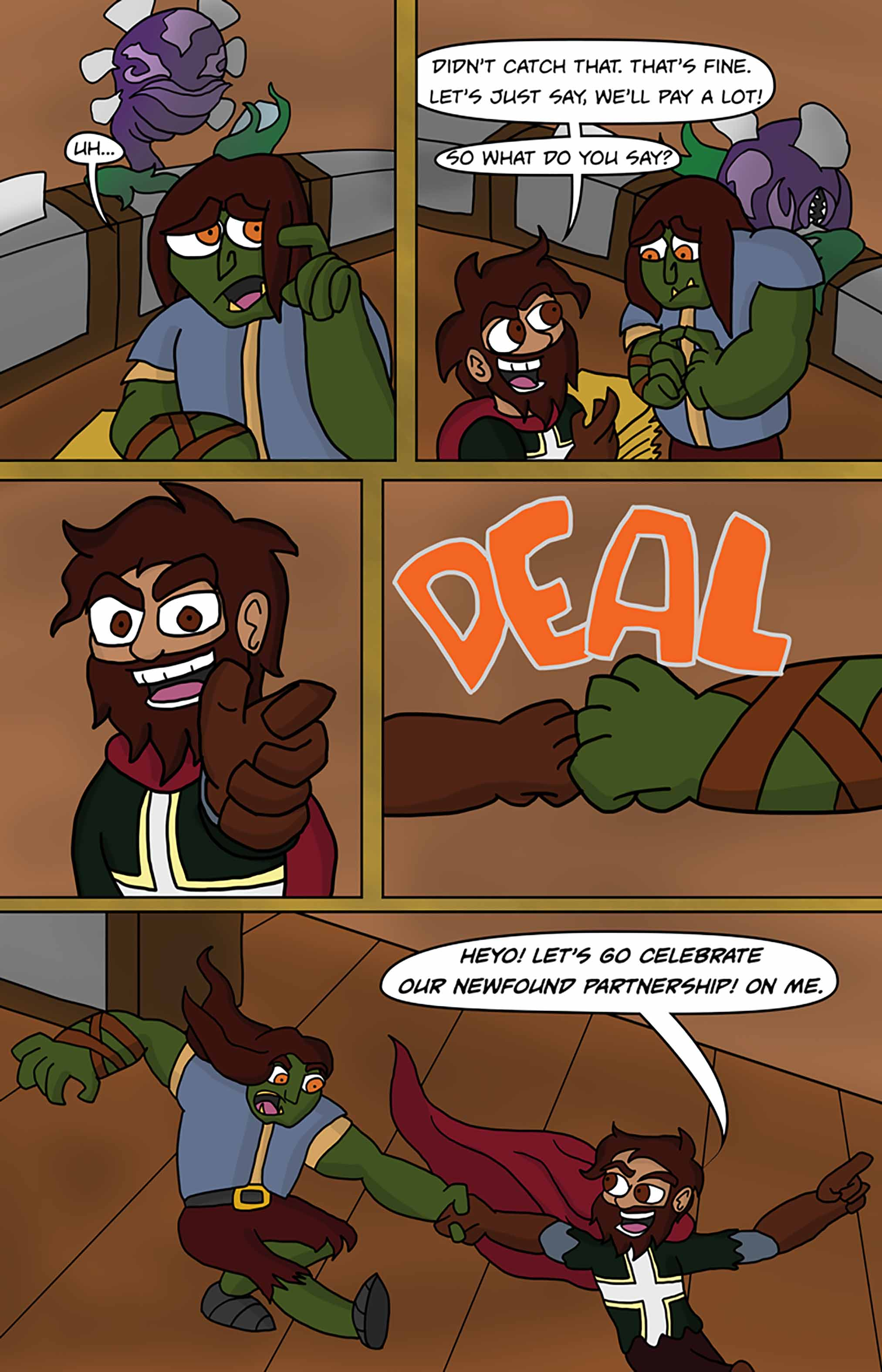 Curse Quest Chapter 1 Page 26