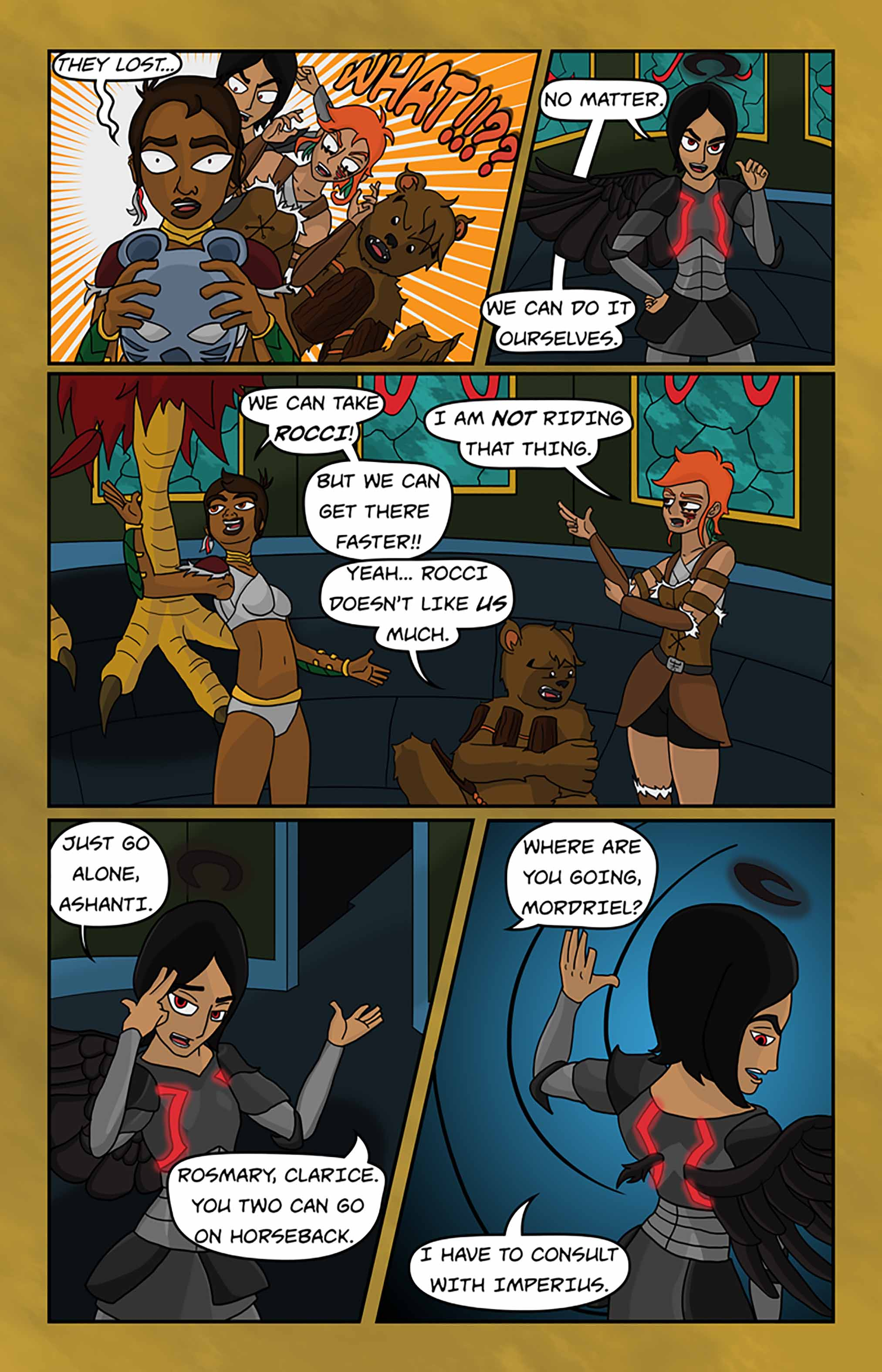 Curse Quest Chapter 1 Page 32