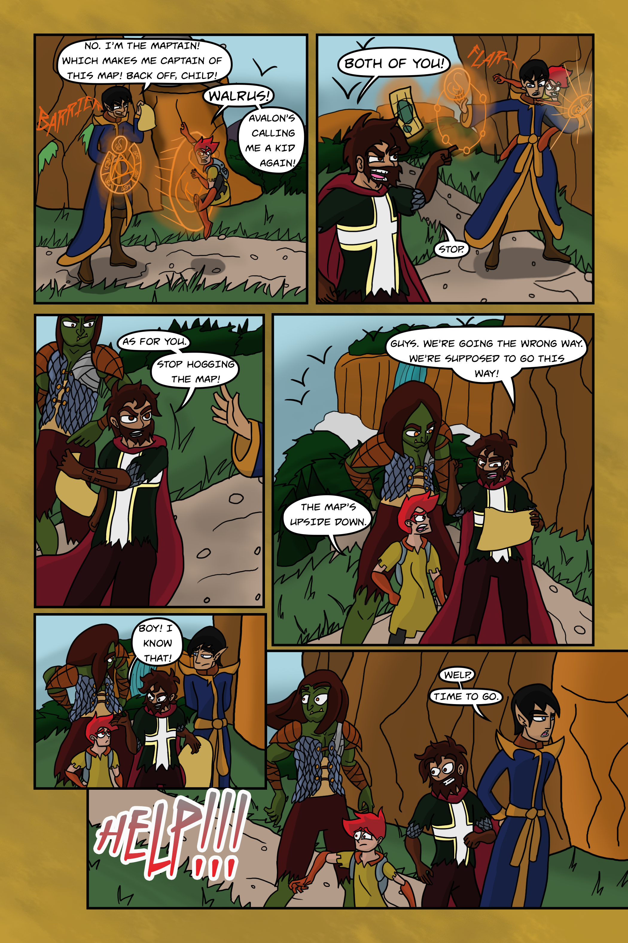 Curse Quest Chapter 2 Page 3