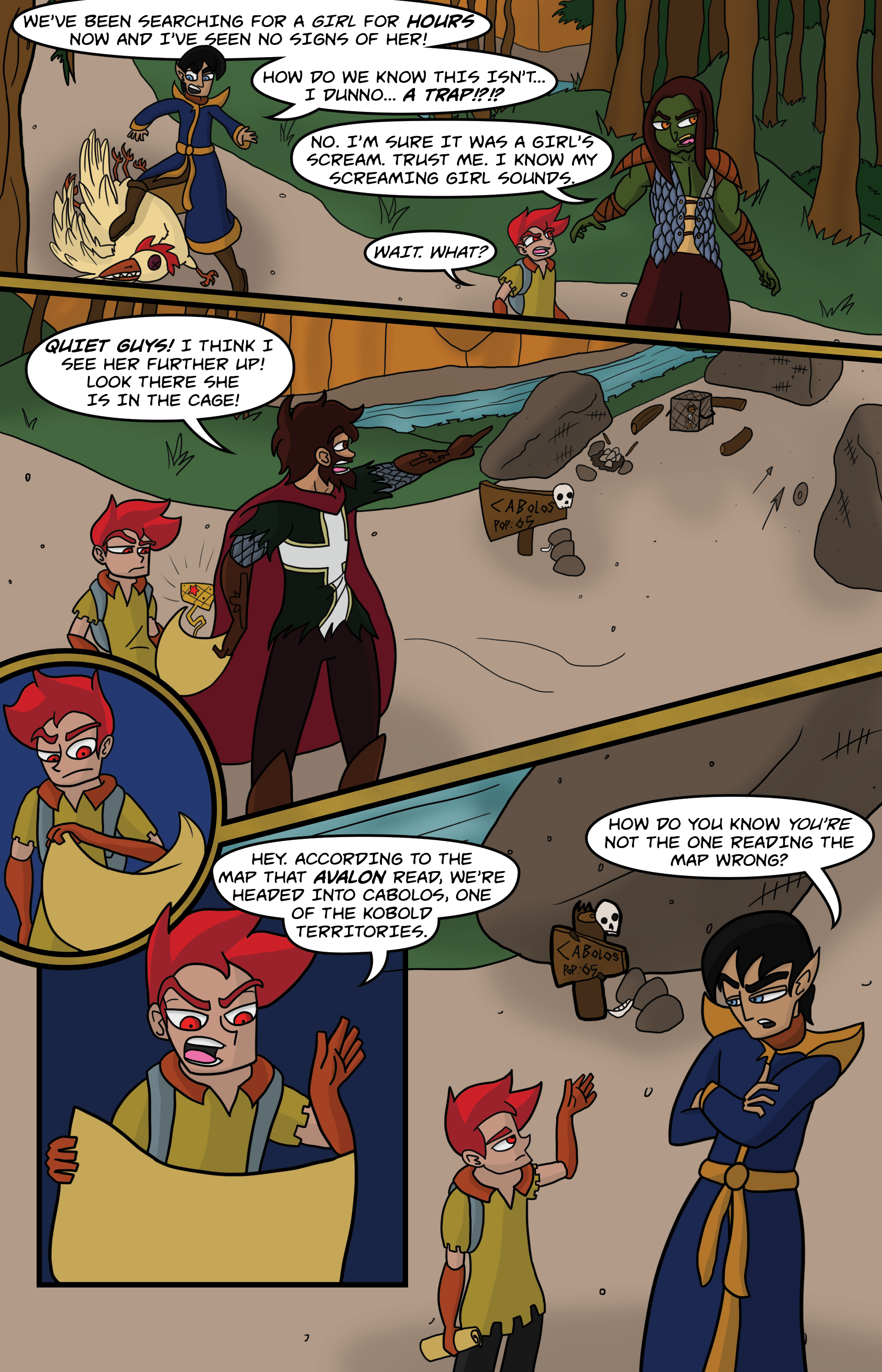 Curse Quest Chapter 2 Page 5