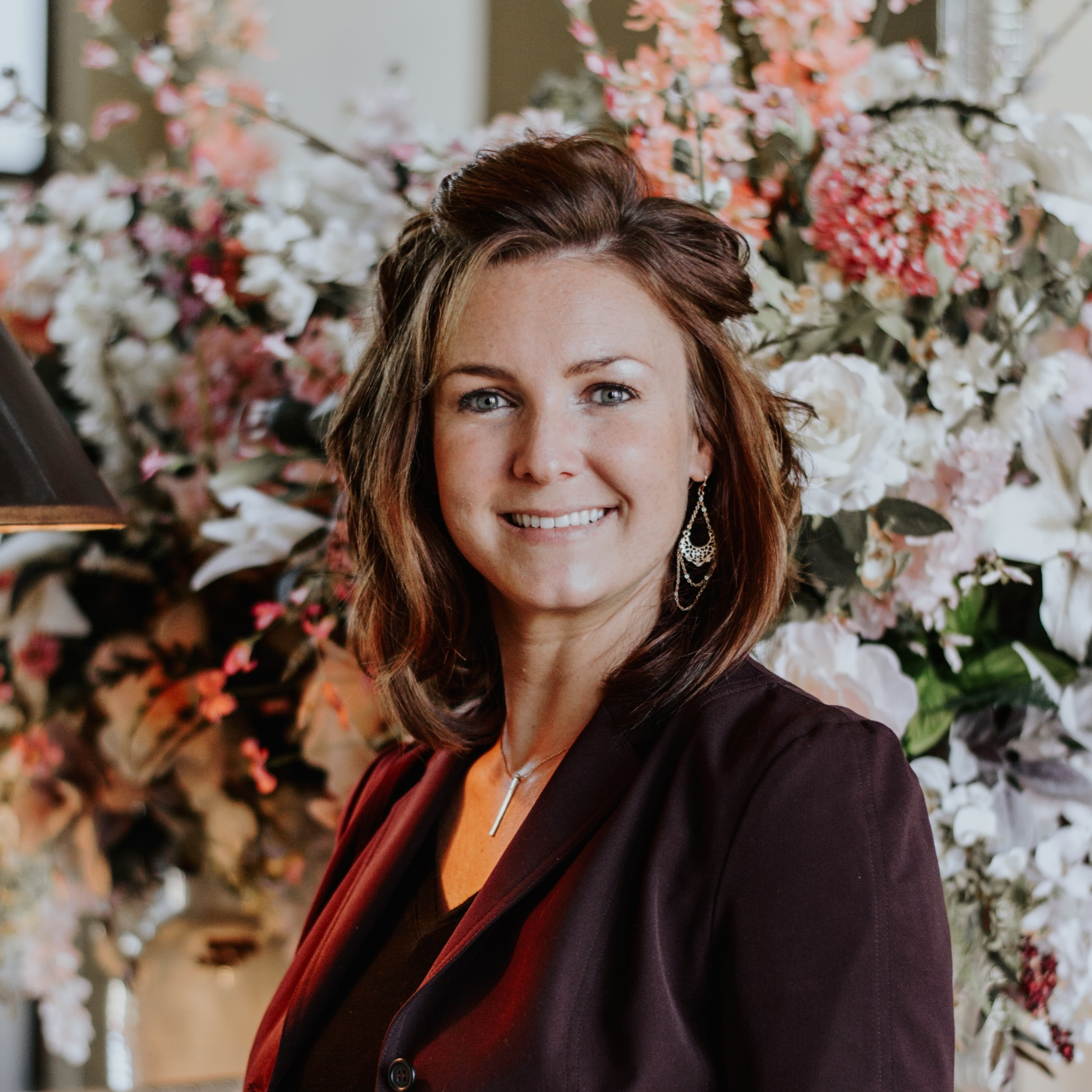 """Tina Cebrynski : """"I always knew I would be successful selling real estate from my previous experience as a business owner but I never knew I would be able to have so much freedom in the process. I owe that freedom to you Ronnie. Thank you!"""""""