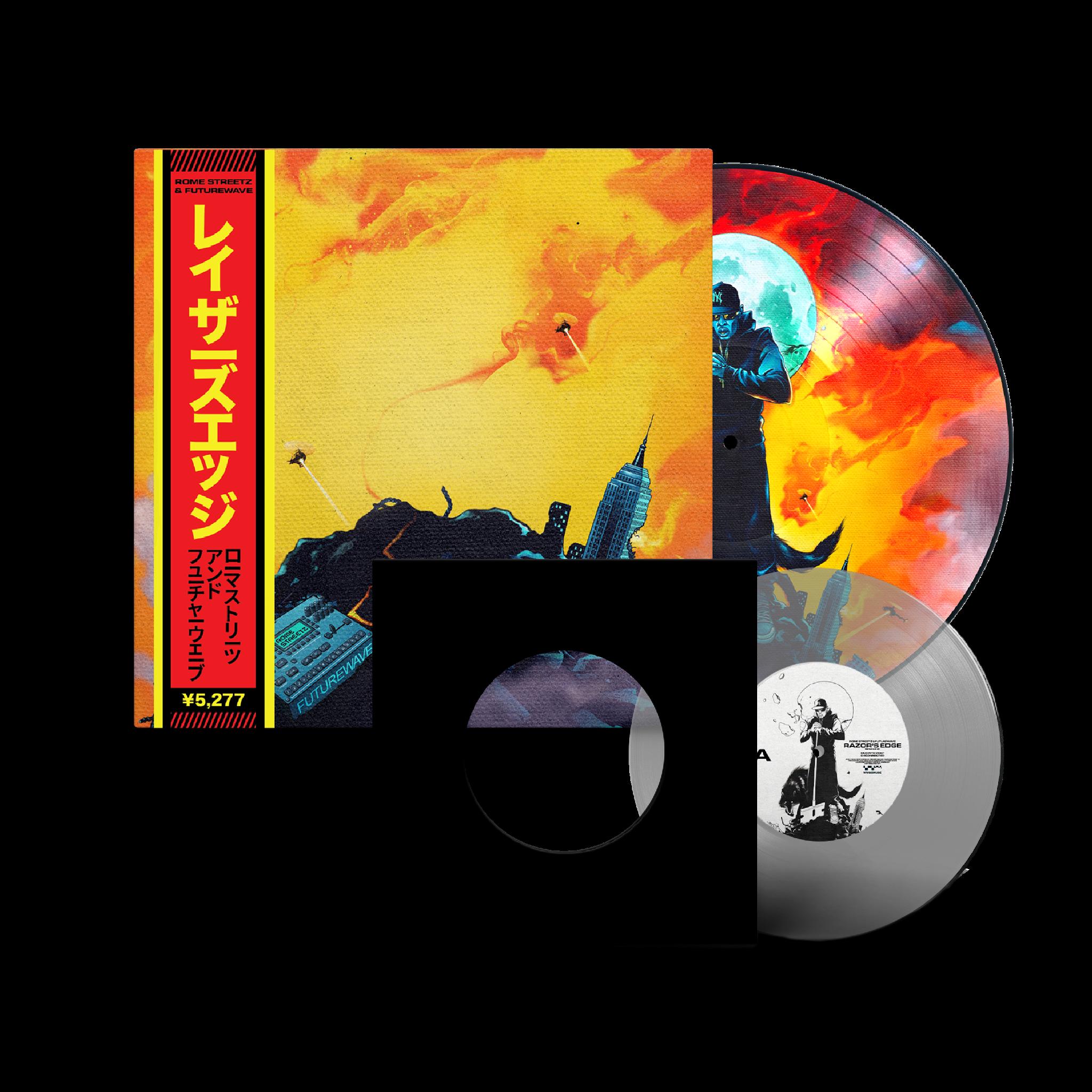 Rome Streetz, Futurewave - Razor's Edge LP