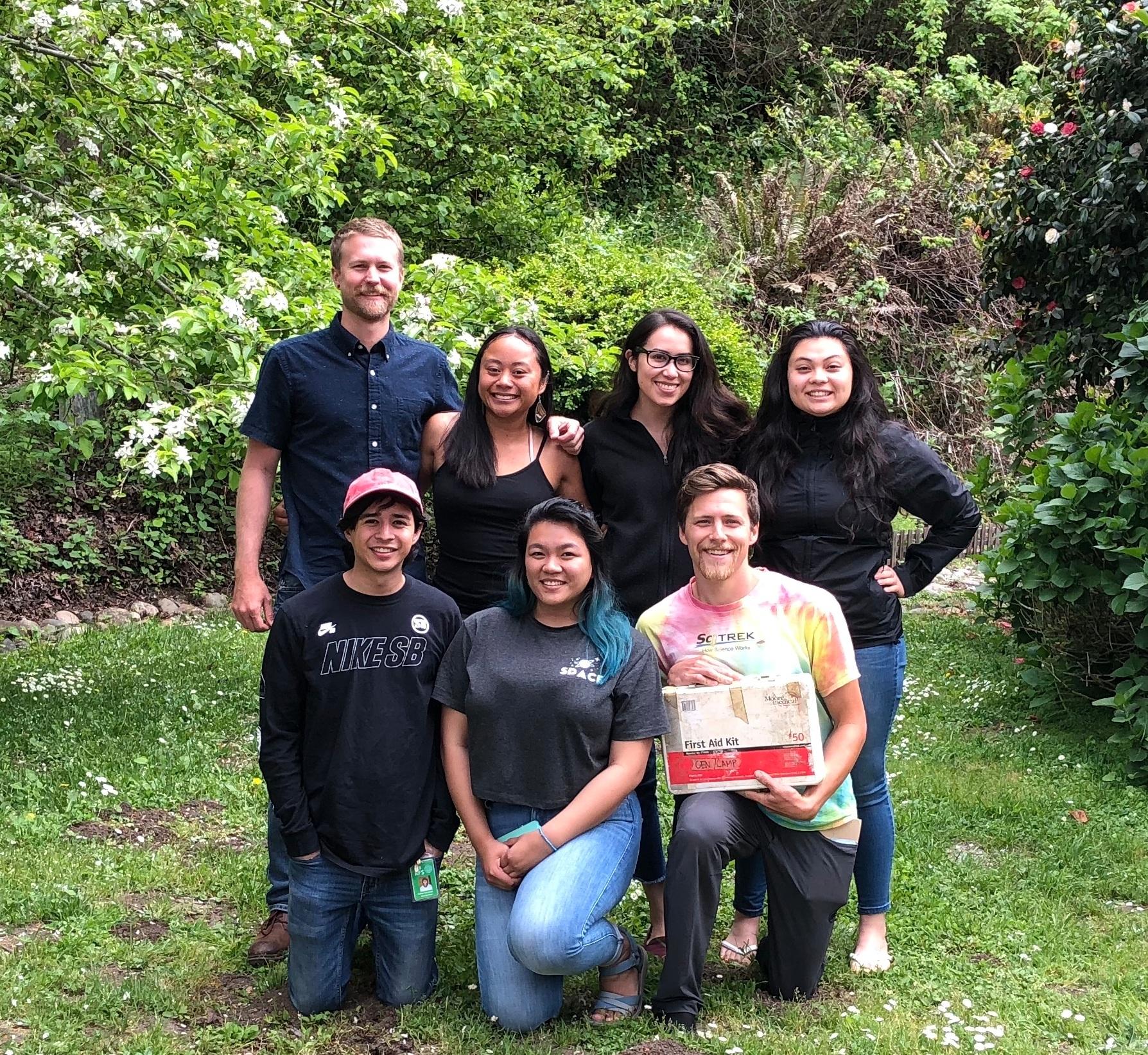 OVY Camp 2019 Leadership Team