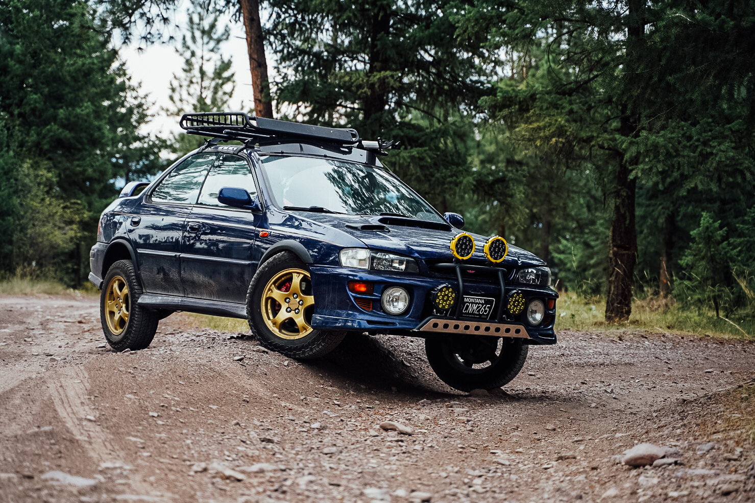 Subaru Impreza 2 5rs Off Road Build Lifted Gc6 Wanderlust Not Less Adventure Photography Nature Stickers