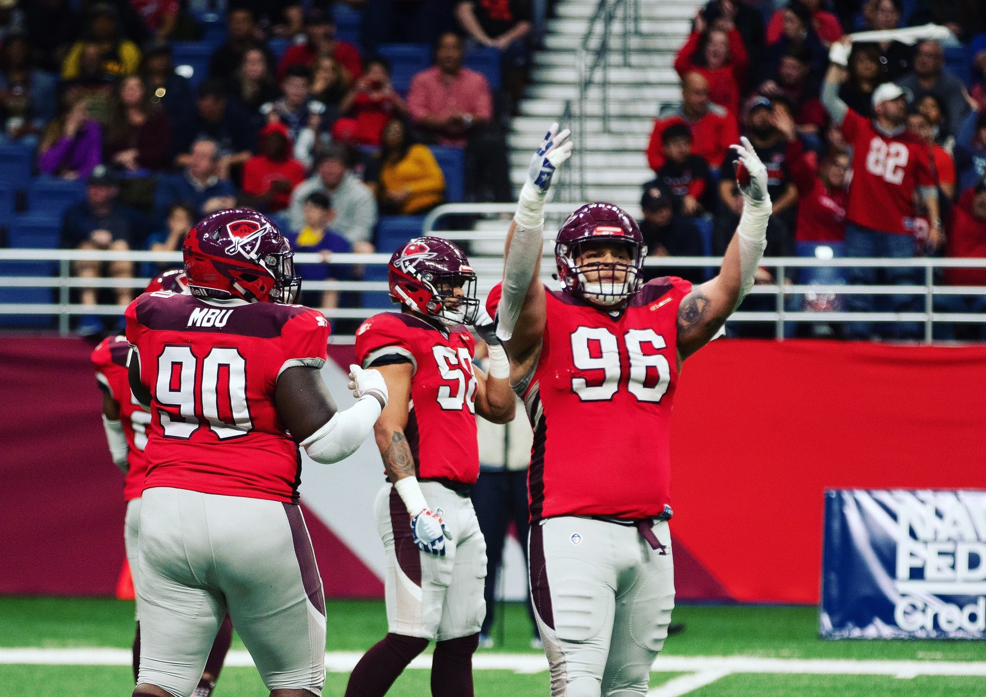 Photo Source: San Antonio Commanders Twitter.