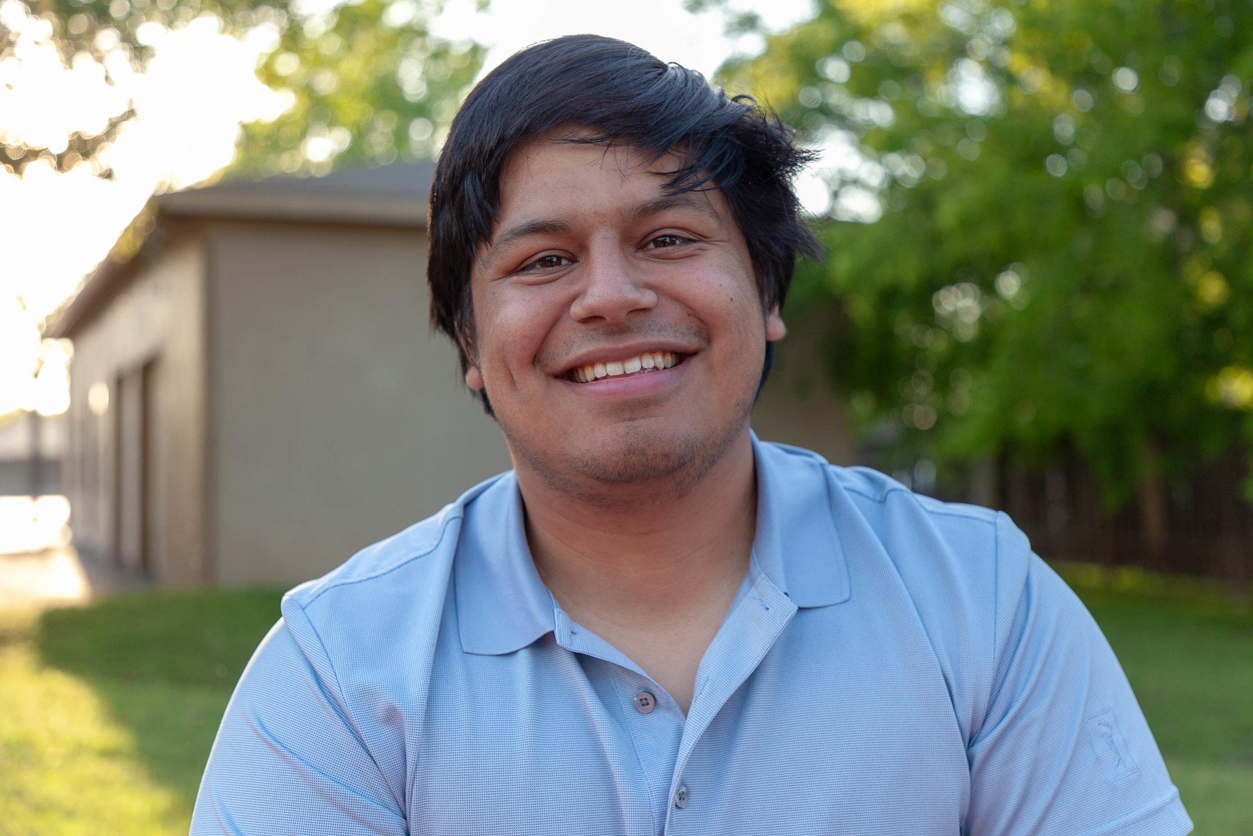 Matthew Espinoza. (Photo by Sentinel Contributing Reporter,  Luis Vazquez. )