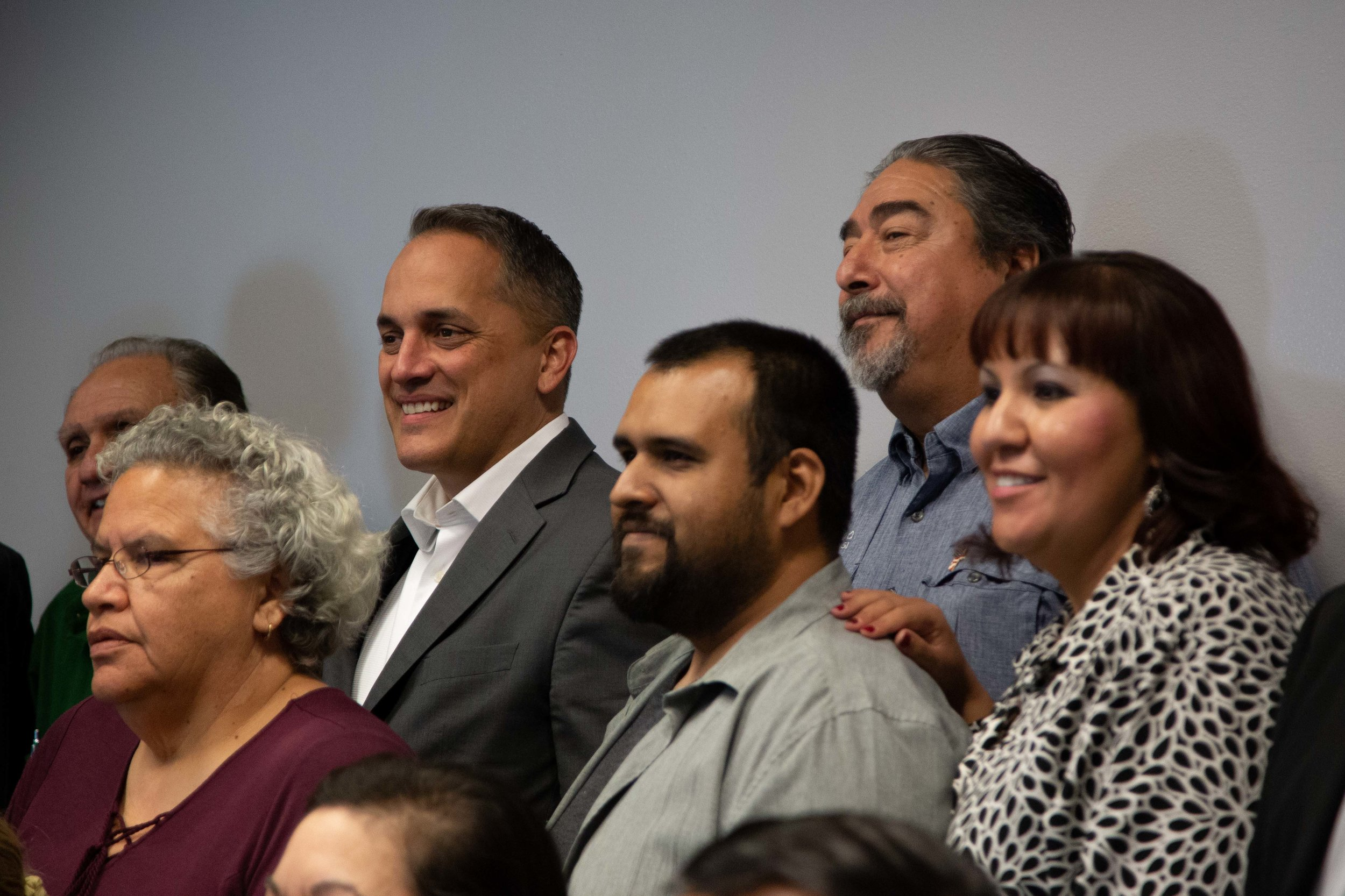 Brockhouse poses for a picture after the forum. (Photo Credit:  GA Media Productions )