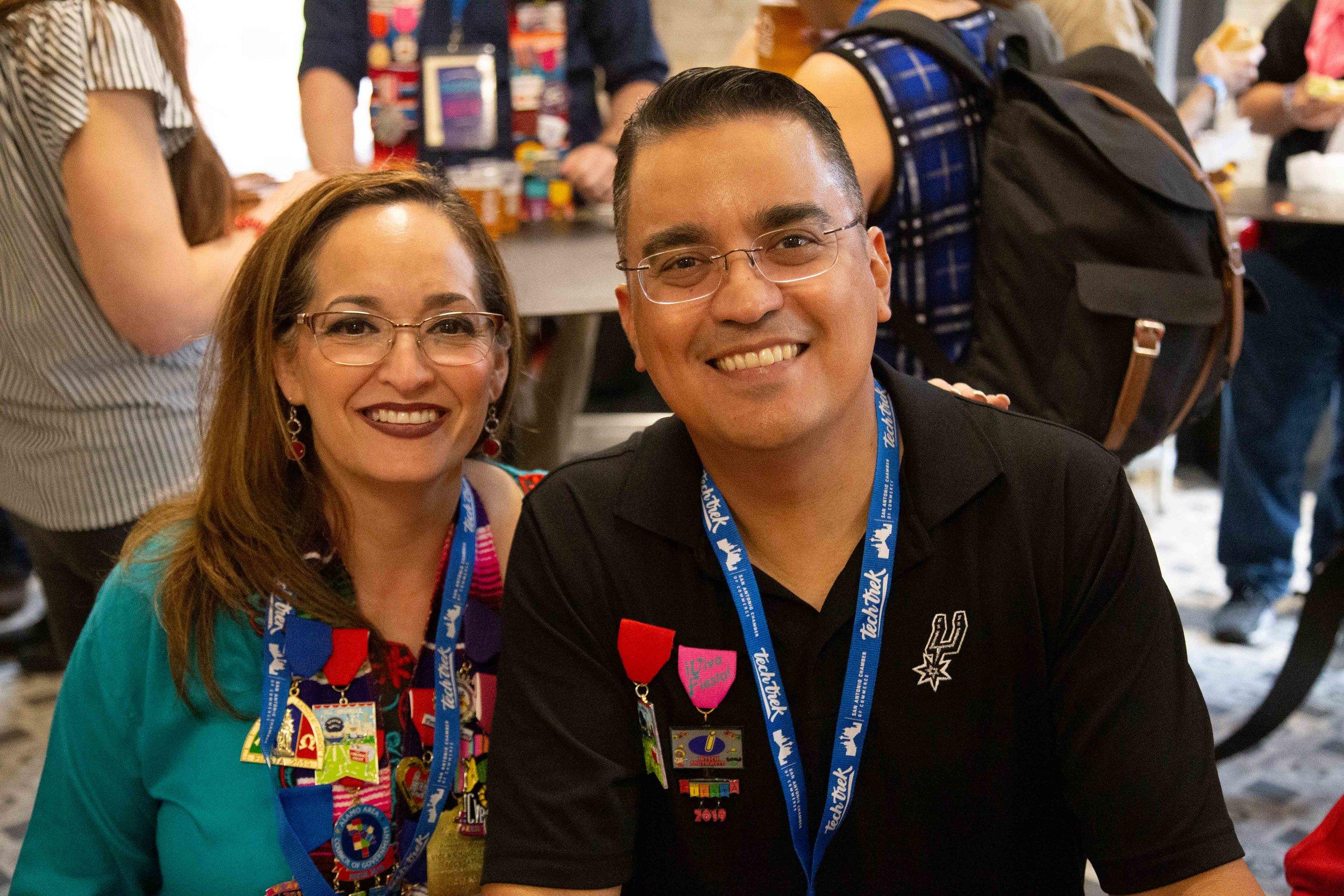 Albert (Right) and Melinda Salinas (Left). (Photo by  GA Media Productions .)