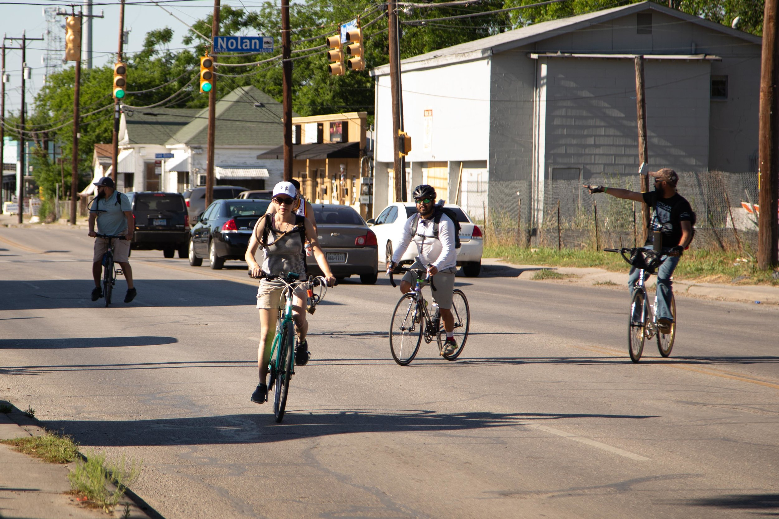 Cyclists make their way through the Eastside. (Photo by  GA Media Productions .)