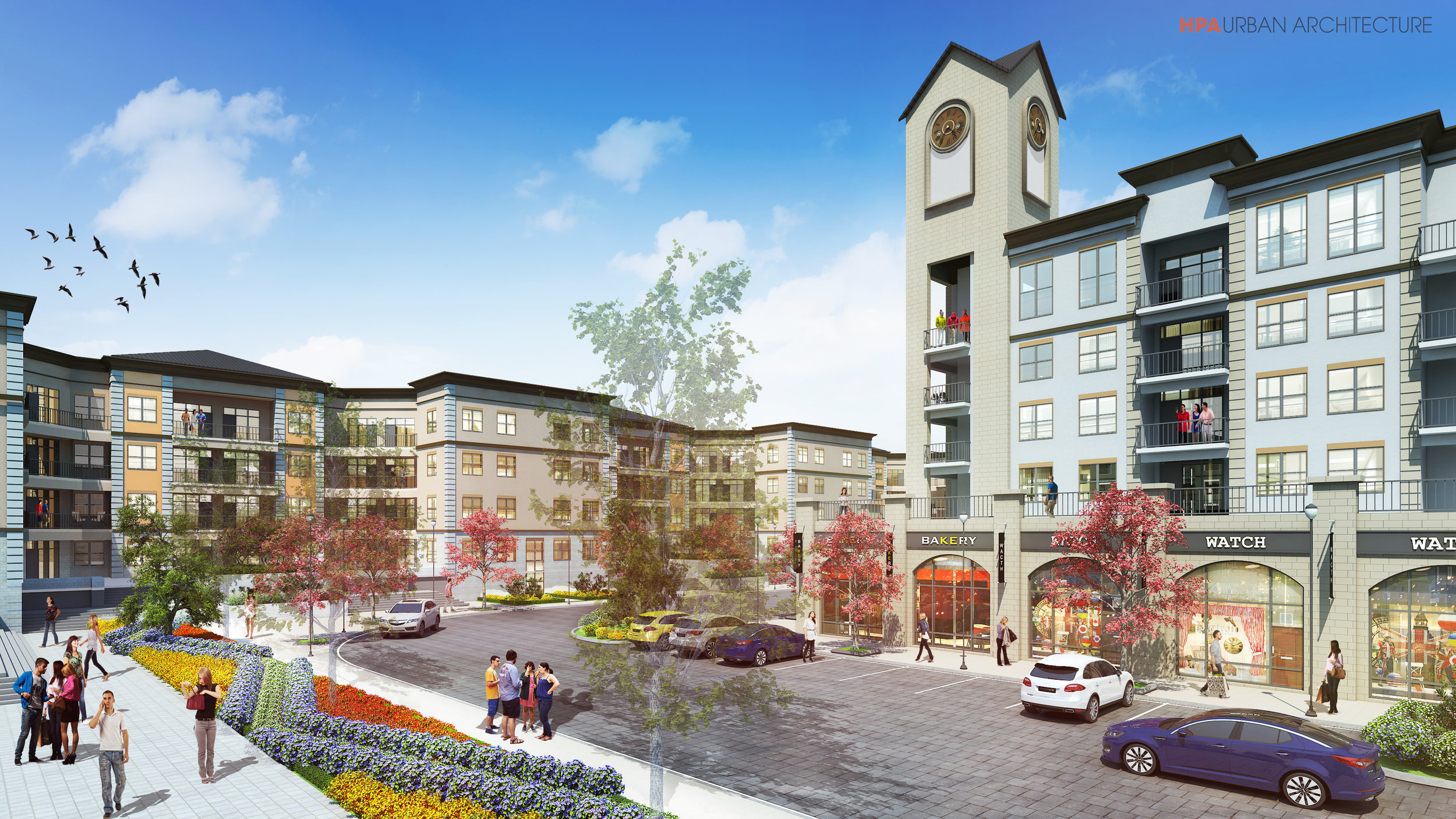 Rendering of proposed Echo East development. (Photo from City of SA  website .)
